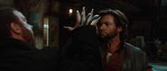 Logan stabs Victor's hand - Las Vegas (Origins)
