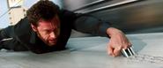 Logan's Adamantium Claws - Bullet Train Roof