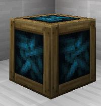 Crate With Crystalle