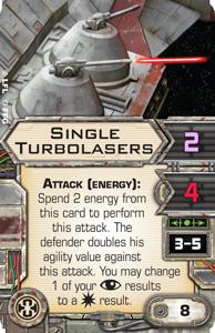 Single-turbolasers