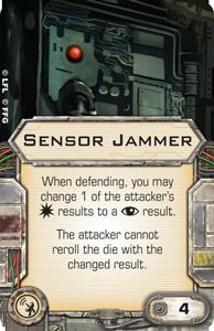 Sensor-jammer