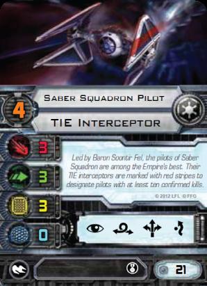 Saber Squadron Pilot