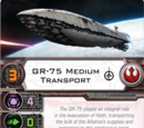 GR-75 Medium Transport (Pilot Card)
