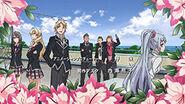 Hayato clique with Saki in OT of Season 1