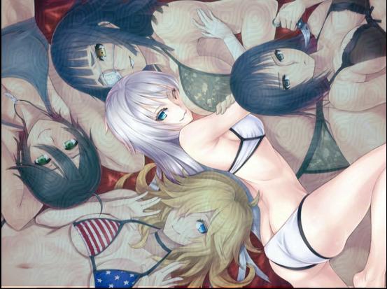Girls. Bikinis. Lust.
