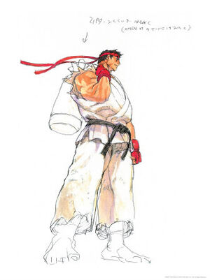SF117~Street-Fighter-III-Ryu-Posters