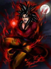 Kamehameha x 10 Ssj4 Goku by Dark Zelda777