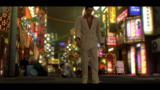 Kuze watches Kiryu leaving after he is defeated