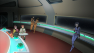 Yamato observation dome relaxing