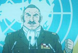 Serizawa announces war