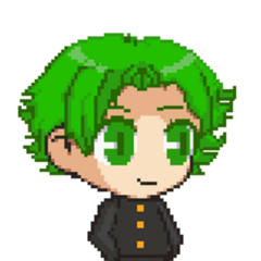A sprite of Hayato.