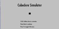 Cubedere Simulator