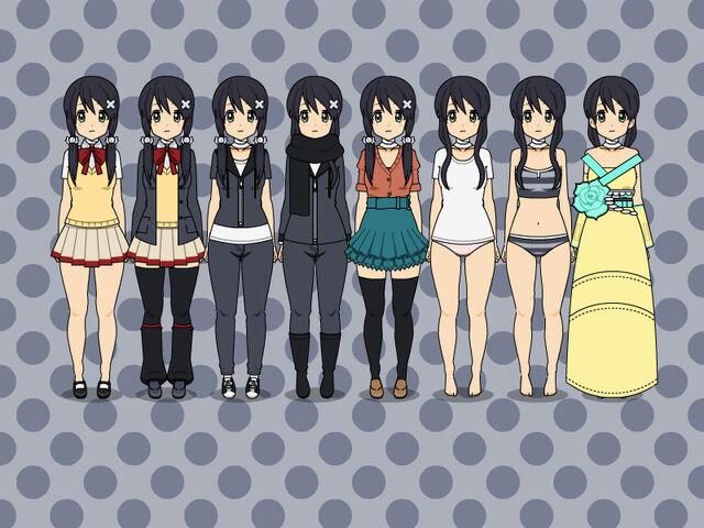File:Kotone outfits.jpg