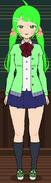 Yandere sim oc Anzu Hisakawa Appearence