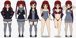Kasumi-Outfits