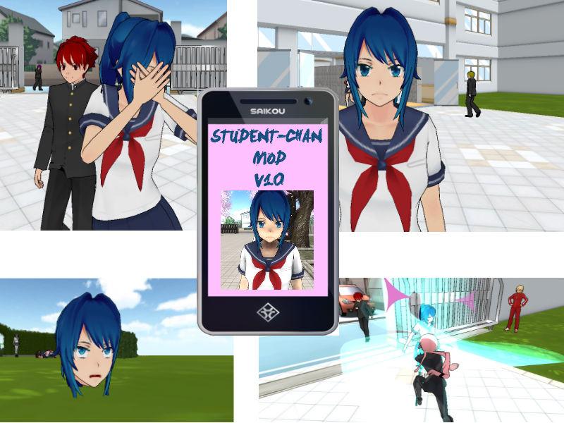 Image - Student-chan-mod.jpg | Yandere Simulator Fanon Wikia ...