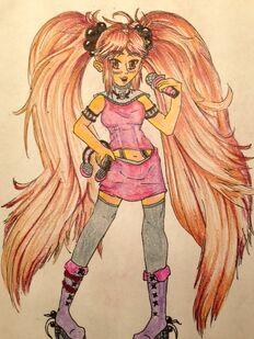 Irina as a Vocaloid