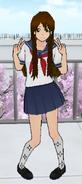 Hanako Saiki Posing