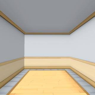 Empty storage room.