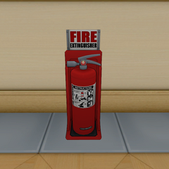 The fire extinguisher. March 17th, 2016.