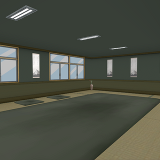 The second appearance of the club room. November 16th, 2015.