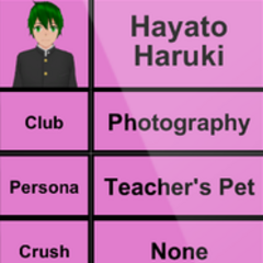Hayato的第二版個人資料