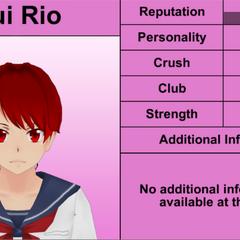 Yui's 4th profile. November 15th, 2015.