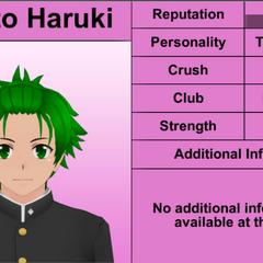 Sexto perfil de Hayato.