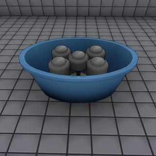 Dumbbells in a bucket. June 15th, 2016.