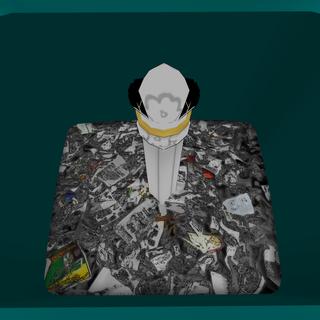 垃圾桶內的魔杖