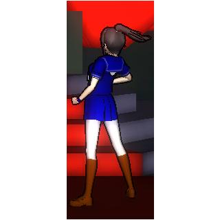 Posing Beldere-chan.