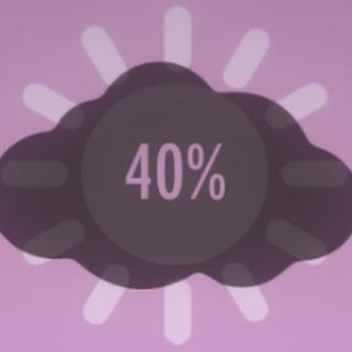 Atmosphere at 40%.