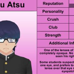 Daku's 2nd profile. February 1st, 2016.