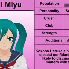 Saki's 9th profile. February 8th, 2016.