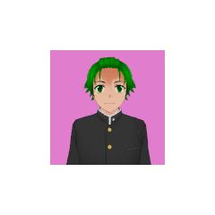 Segundo retrato de Hayato.