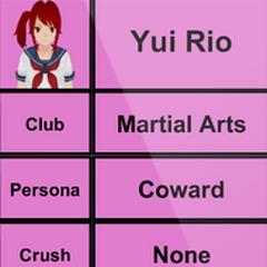 Yui's 2nd profile.