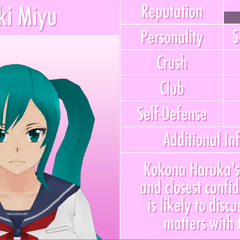 Saki's 11th profile. June 1st, 2016.