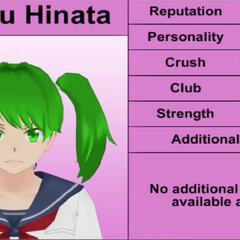 Koharu's 4th profile. November 2015.