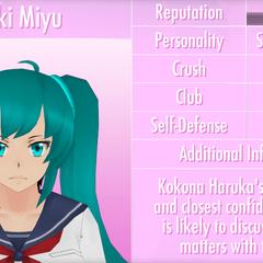 Saki's 13th profile. May 19th, 2017.