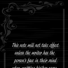 <i>Life Note</i> 卷2的背面