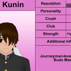 Segundo perfil de Sho.