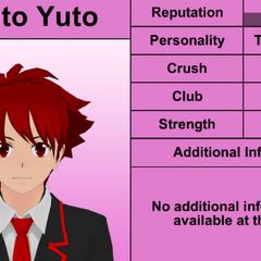 Haruto's 8th profile. February 17th, 2016.