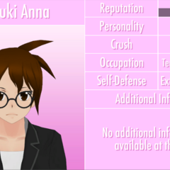 Natsuki's 10th profile. October 16th, 2016.