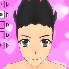 Hair Style #10 (Spiky)