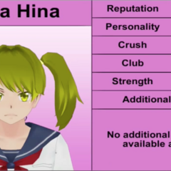 Yuna's 3rd profile. November 2015.