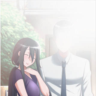 A photo of Ryoba and Yandere-chan's father from the game files.
