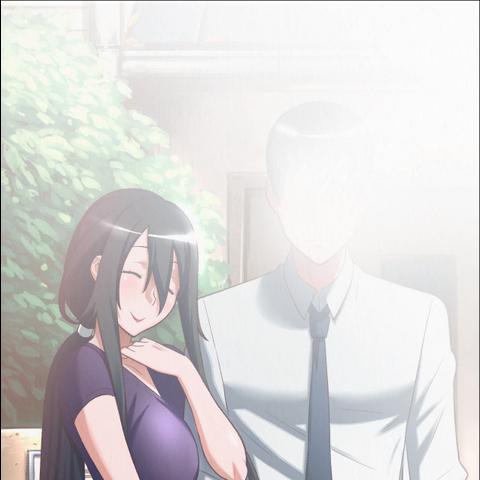 來自遊戲文件的Ryoba和病嬌醬父親的合照