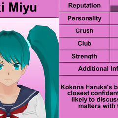 Saki's 7th profile. December 2015.