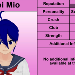 Mei's 10th profile. May 2nd, 2016.
