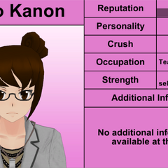 Kaho Kanon's 7th profile (bugged). March 31st, 2016.